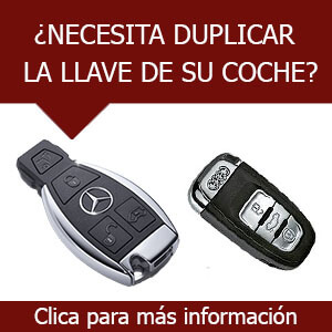Duplicado de llaves de coche-Mercedes audi y más marcas